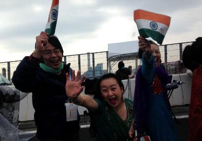 横浜マラソン2015インド