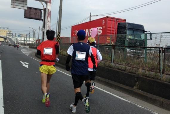 横浜マラソン2015サブスリーペーサー