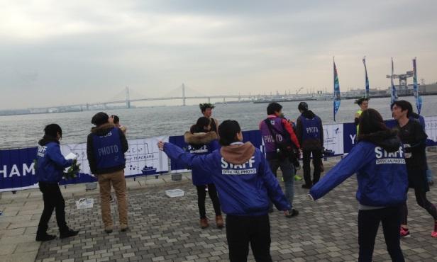 横浜マラソン2015撮影