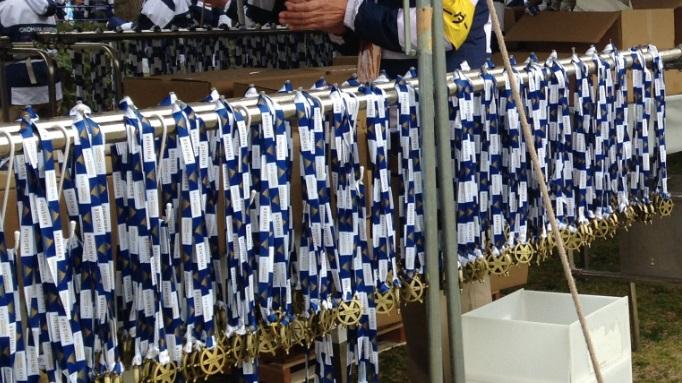 横浜マラソン2015完走メダル