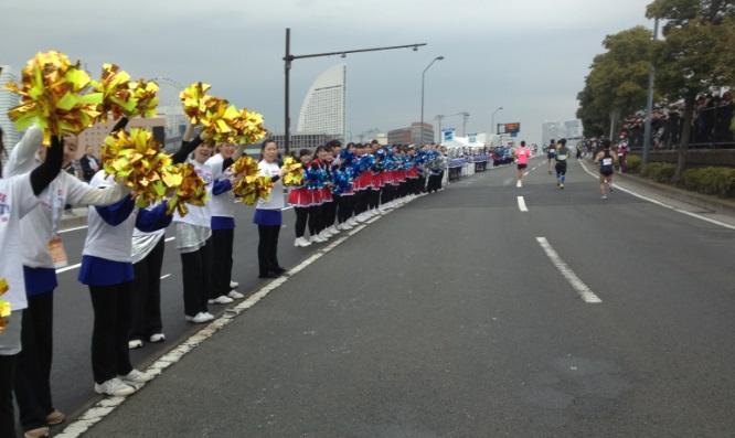 横浜マラソン2015最後