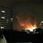 8月24日相模原米軍補給廠での爆発火災発生に関するまとめ