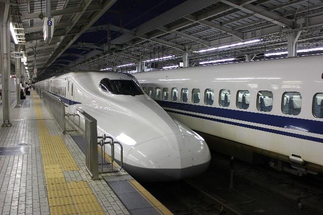 新幹線 岡山駅