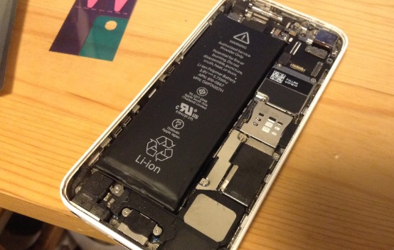 iphone5cの中身