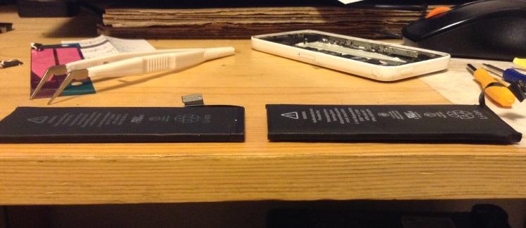 iphone5cバッテリーパック