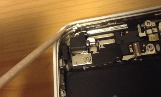 iphone内部清掃・掃除