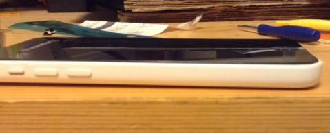iphone5c修理完了