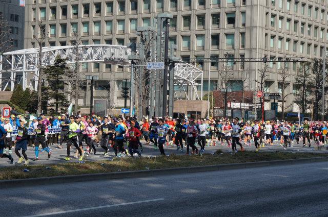 東京マラソン2016 一般ランナー