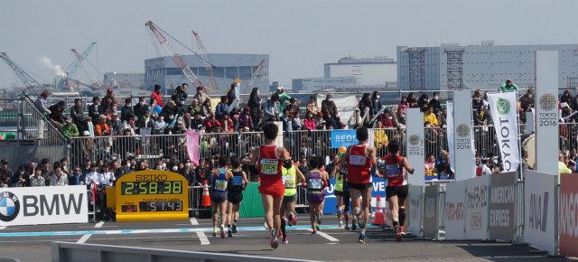 東京マラソン2016 サブスリー