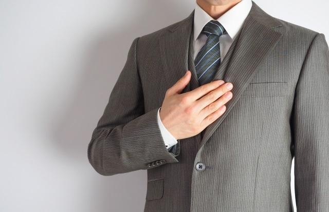 営業マン スーツ