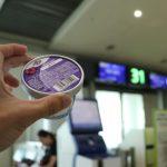 低カロリーアイスBLUE SEAL紅イモ味 2018波照間旅の食事②